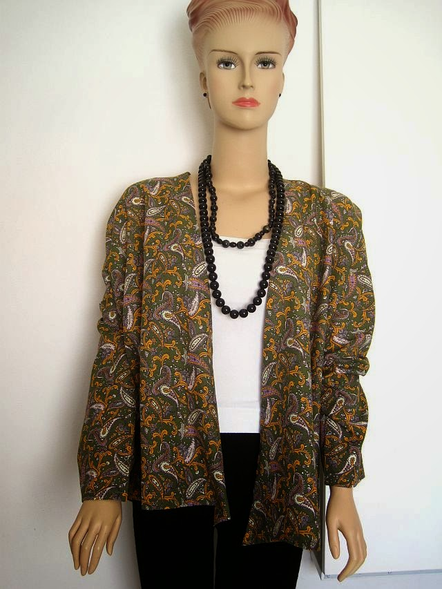 Kimono Jacket FREE Sewing Pattern Greenie Dresses For Less Gorgeous Kimono Sewing Pattern