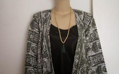 Easy Kimono Jacket Tutorial + FREE Sewing Pattern