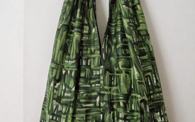 DIY Bright Coloured Fabric Bag