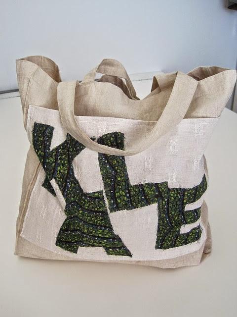 Restyle a Shopper Bag