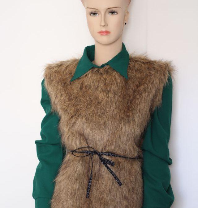 Faux Fur Vest + FREE Pattern