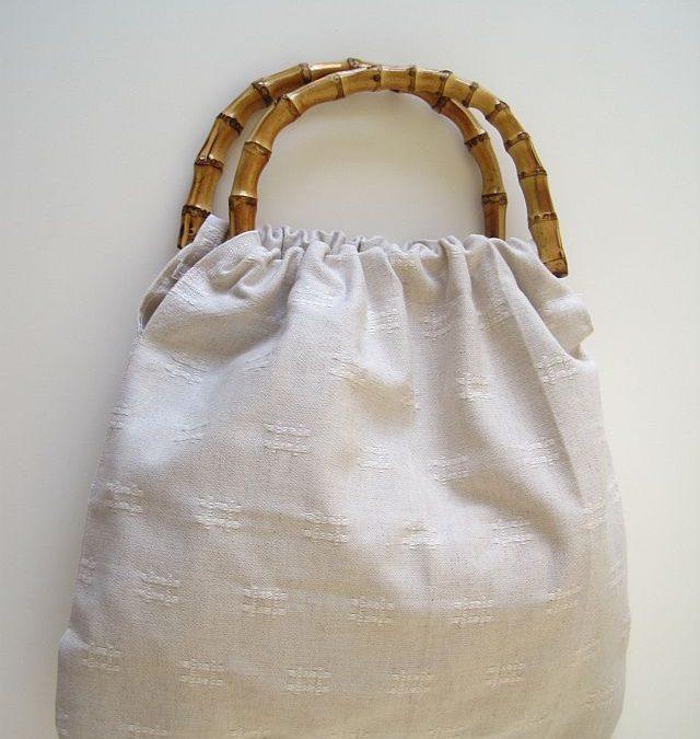 Bamboo Handle Handbag