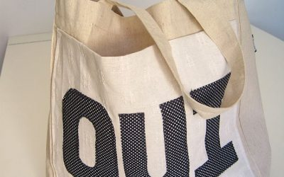 How to Upcycle a Shopper Bag