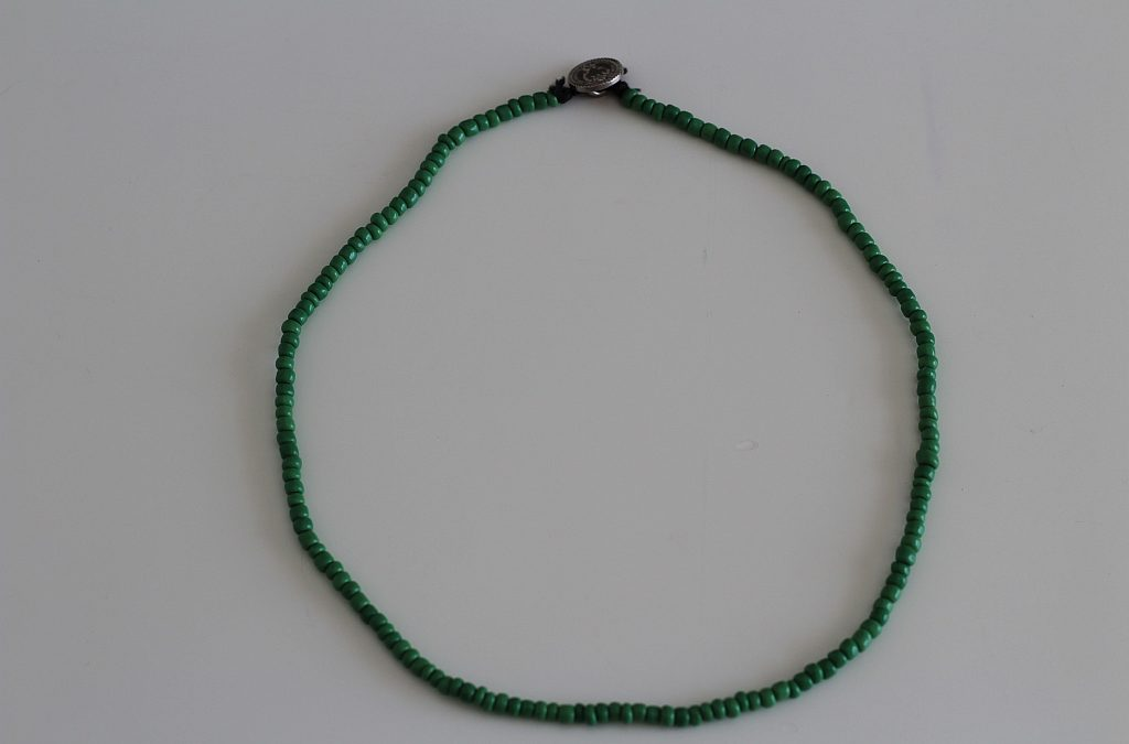 Bead Button Necklace