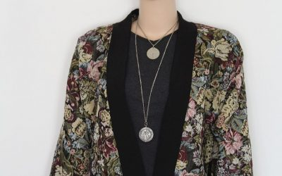 Tapestry Kimono Jacket