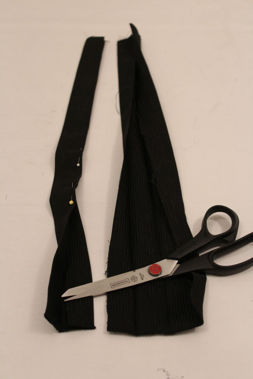 Cut and sew straps