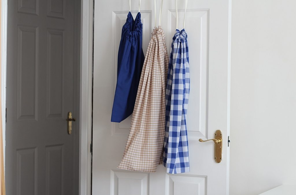 DIY Drawstring Laundry Bag