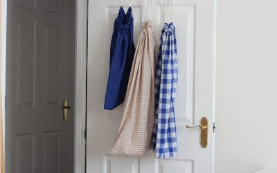 DIY Drawstring Laundry Bag