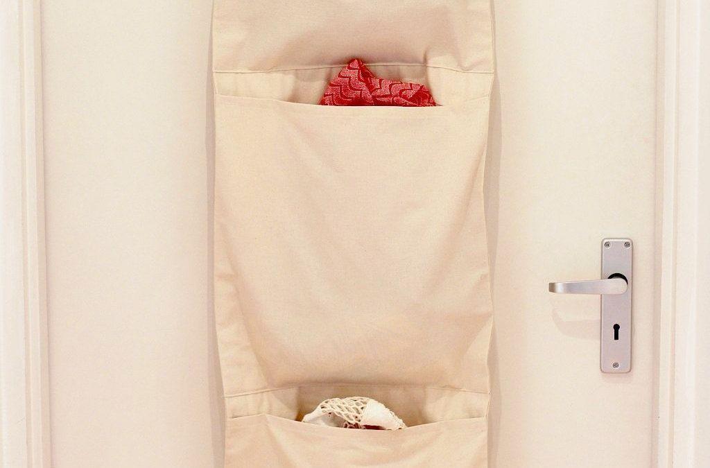 Vertical Hanging Laundry Bag