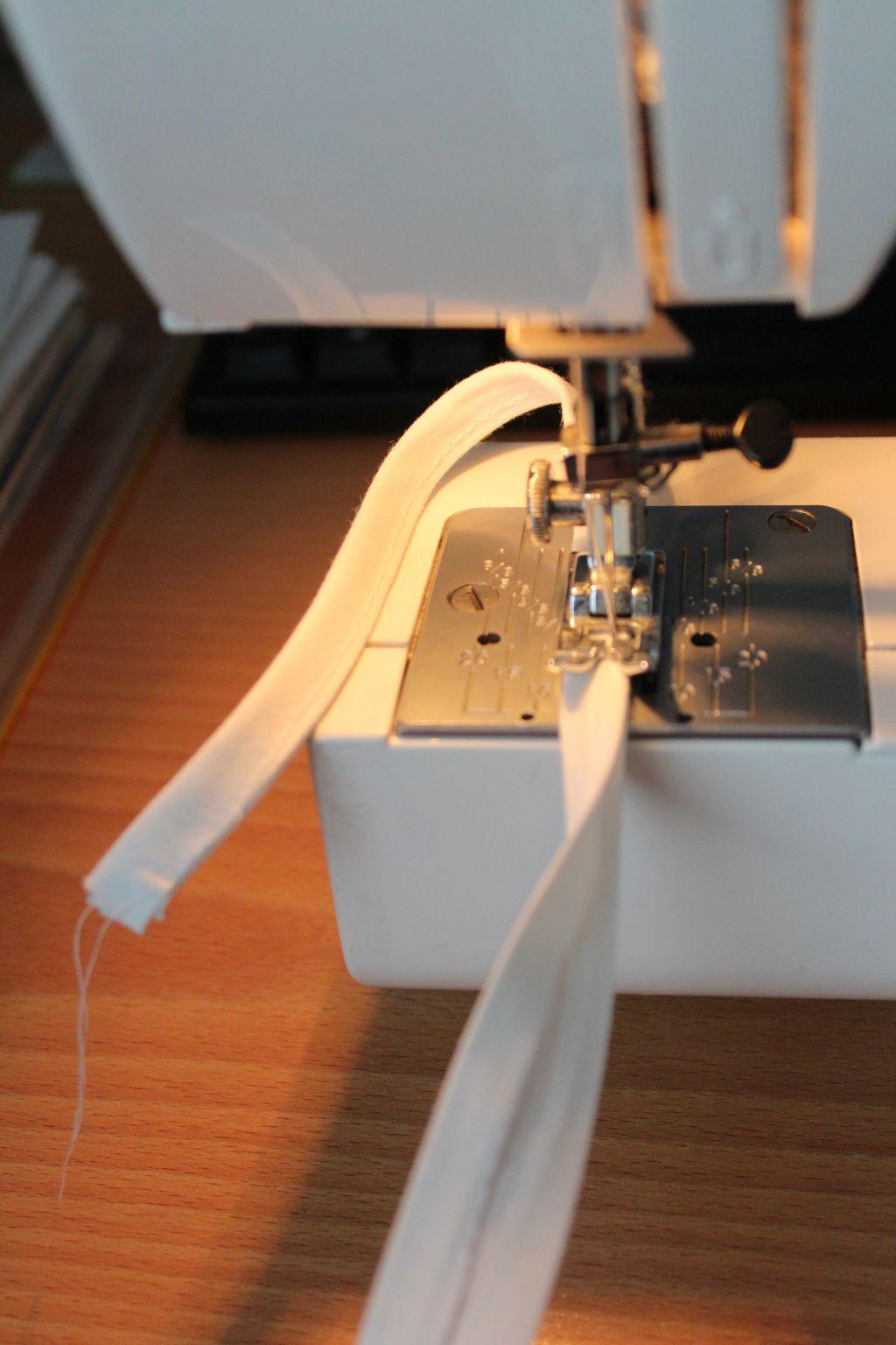 Sew tape flat
