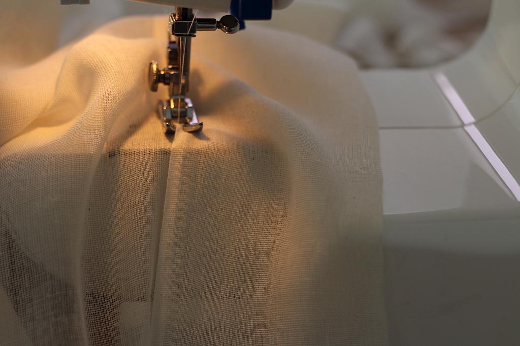 Sew a slot