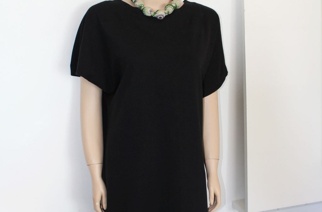 Long Black Shiftdress