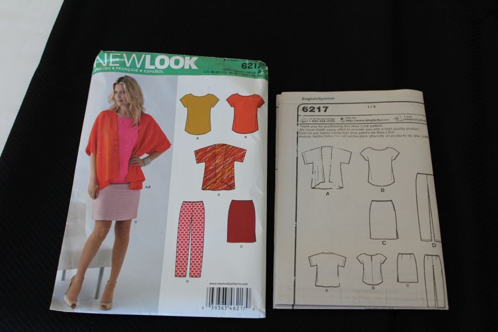 New Look Kimono Jacket Pattern
